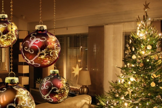 Enjoying Christmas